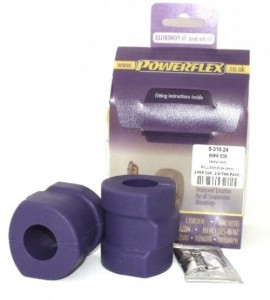 Powerflex racing stabilizer bush-set front 24MM E34 E36 Z3